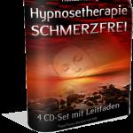 Hypnosetherapie-Schmerzfrei 4er MP3-Set