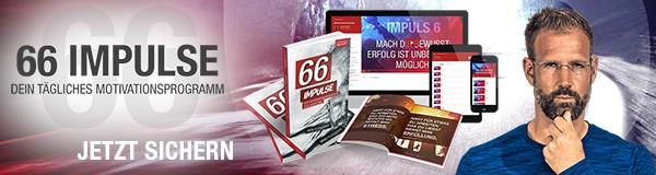 66 Impulse – Dein tägliches Motivationsprogramm