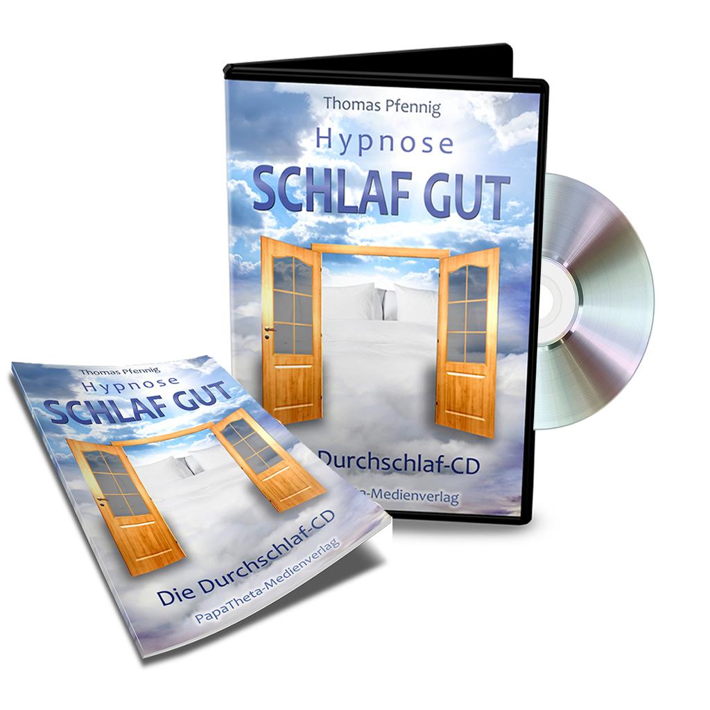 Hypnose SCHLAF GUT – Die Durchschlaf CD (MP3)