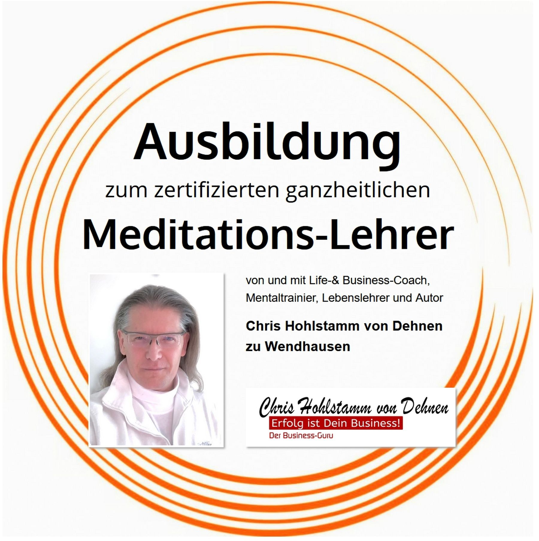 Ausbildung zum Meditations-Lehrer u. Entspannungs-Coach