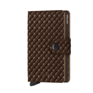 Miniwallet Basket Brown