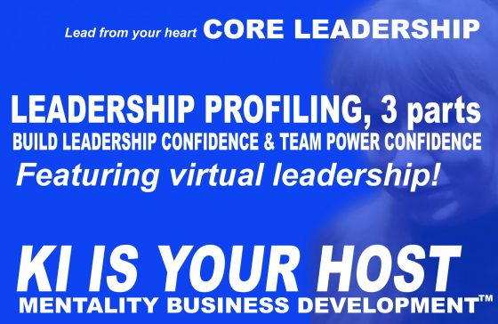 Leadership profiling - build leadership confidence