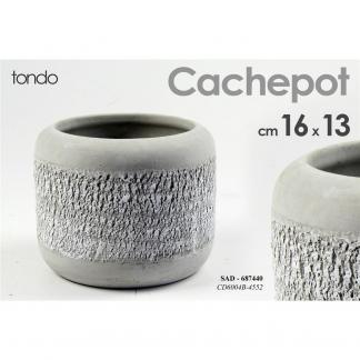 SAD/CACHEPOT 16*16*3CM CD6004B/4552