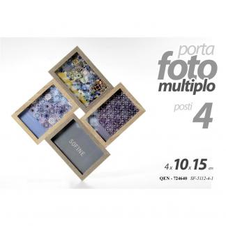 QEN/QUADRO 4 FOTO 10X15 CM SF5112-4-1