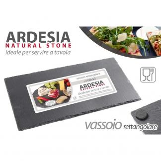 XUA/VASSOIO ARDESIA 40*20CM 1102-5
