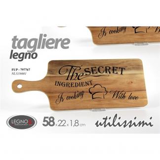 FUP/TAGLIERE ACACIA 58*22*1,5 NL1116601