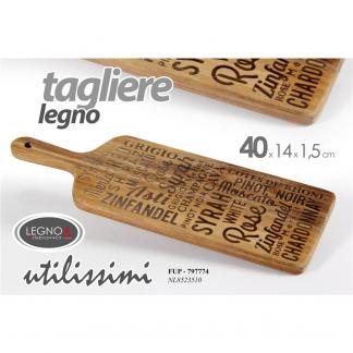 FUP/TAGLIERE ACACIA 40*14*1.5 NL8523510