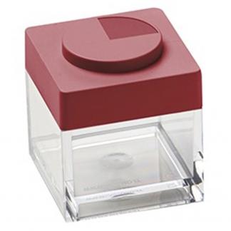 Contenitore BRICKSTORE 5x5x5,5 cm capacit¹ 10 cl colore rosso
