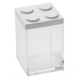 Contenitore BRICKSTORE 10x10x15,5 cm capacit¹ 1 L colore bianco