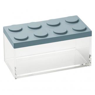 Contenitore BRICKSTORE 10x20x10,5 cm capacit¹ 1,5 L colore azzurro polvere