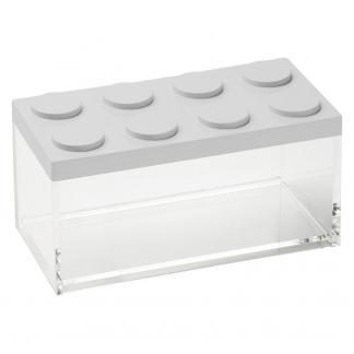 Contenitore BRICKSTORE 10x20x10,5 cm capacit¹ 1,5 L colore bianco