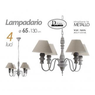 WXP/LAMPADARIO 4L 54*130 XCL171113-4L