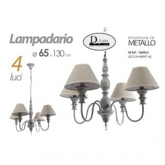 WXP/LAMPADARIO 4L 56*136 XCL1804117-4L