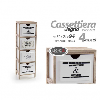 EDT/MOBILE 4 CASS. 30*24*94CM SY852-4