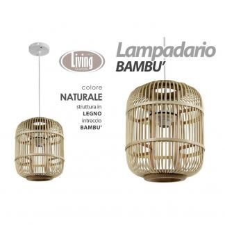 XDH/LAMPADARIO NAT 29*33CM HY18105B
