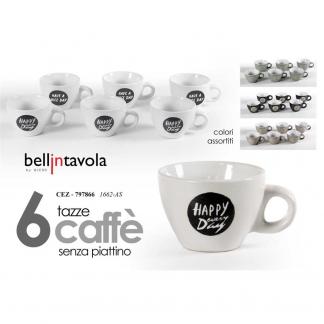 CEZ/S/6PZ TAZZINE CAFFE ASS 80ML 1662/AS