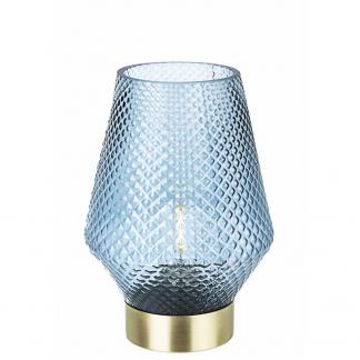 LAMPADA TAV. LED MUMBAI BLU-ORO H17,5