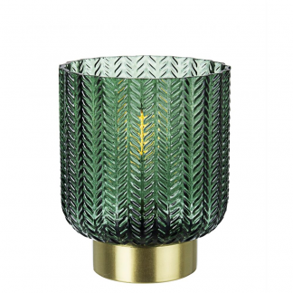 LAMPADA TAV. LED DELHI VERDE-ORO H13