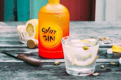 Solar Gin met gin-tonic