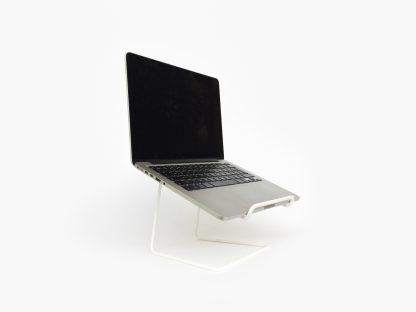 STAND laptop stand tablet laptopstandaard minimalist design white wit