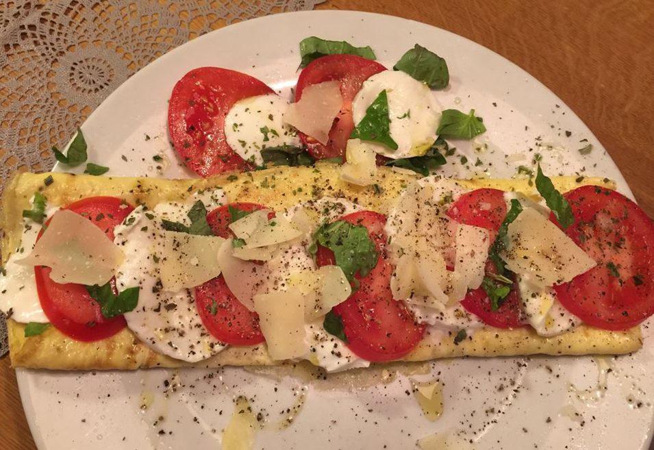 Lunch met een Italiaans tintje