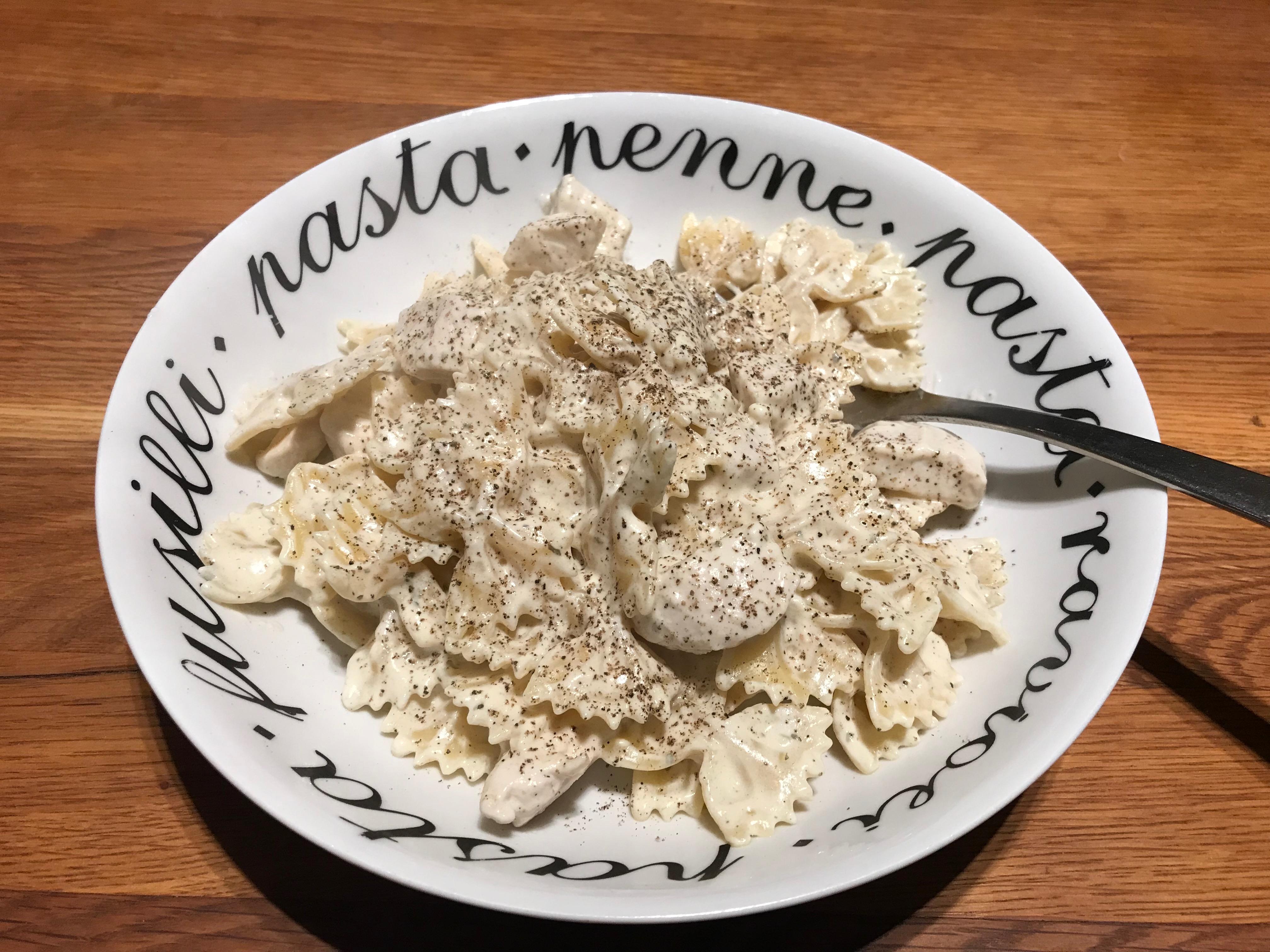 pasta boursin