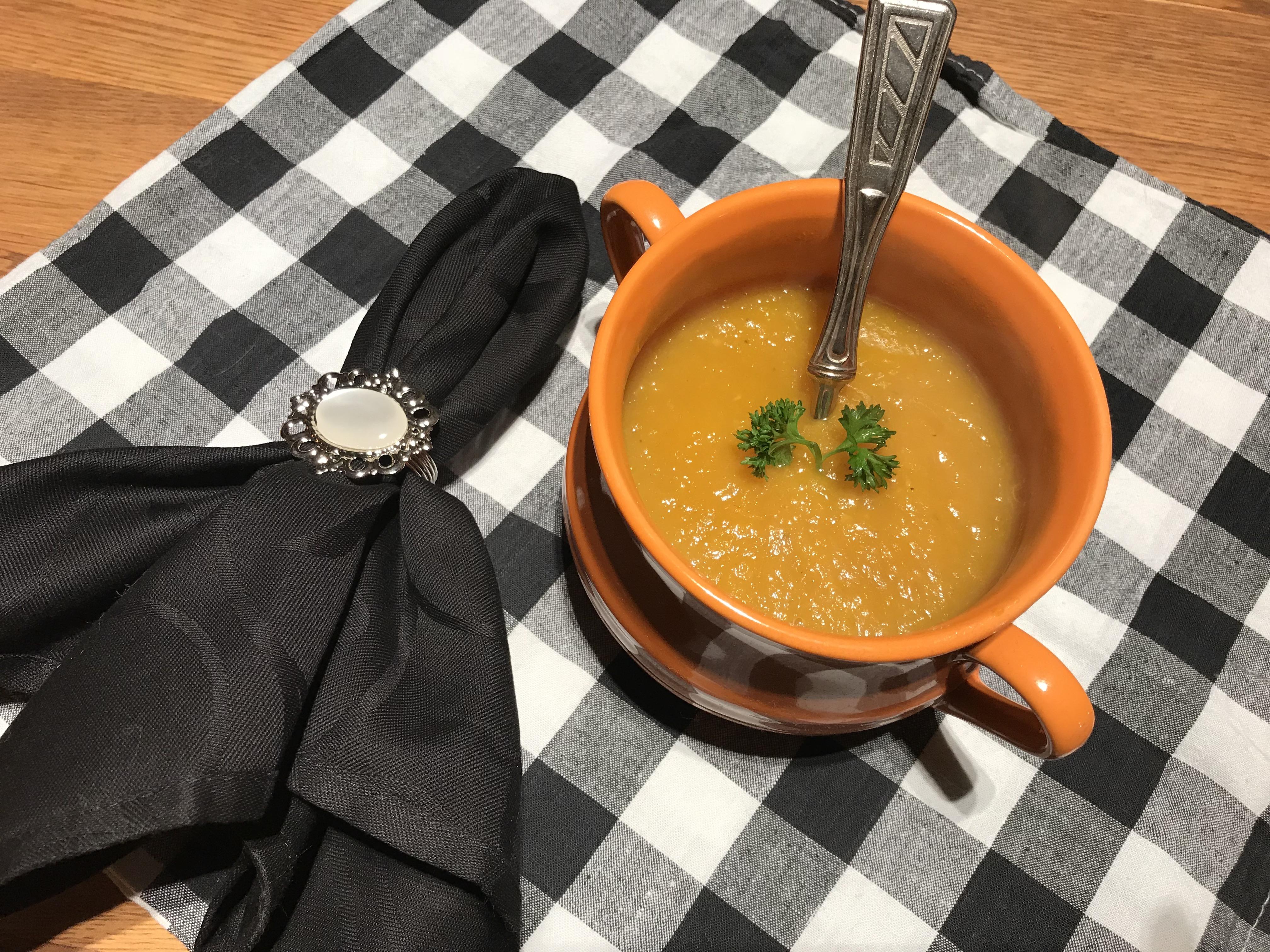 wortel pompoensoep