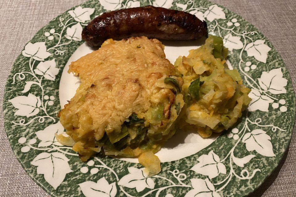 preischotel met zoete aardappel