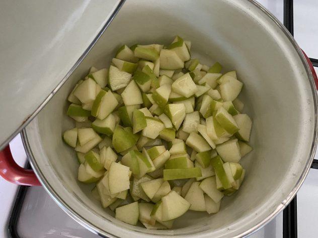 yoghurt met appelcompôte