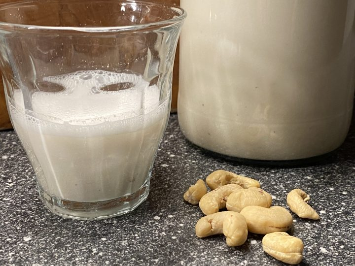 cashewmelk maken