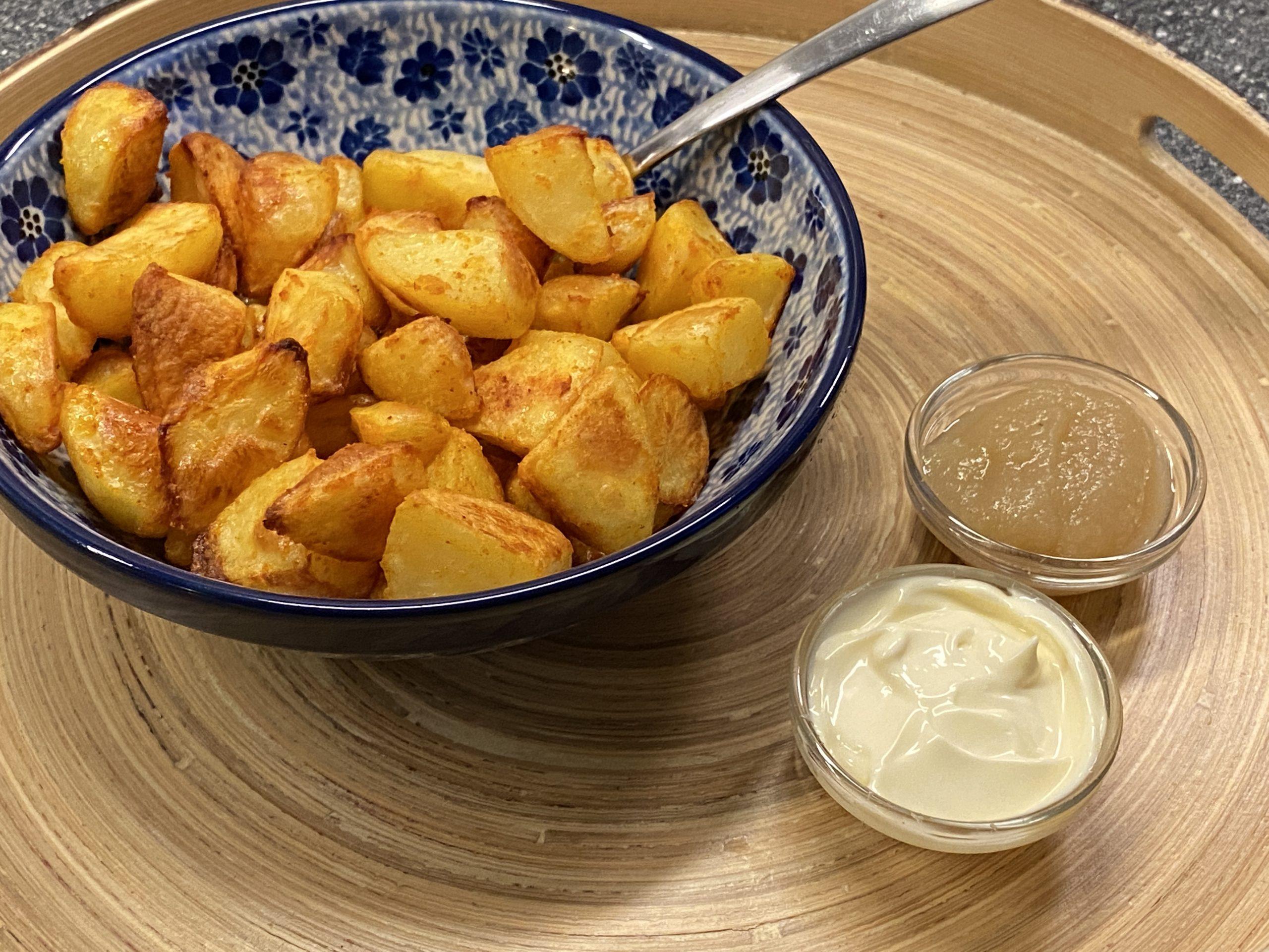 ovengebakken aardappeltjes