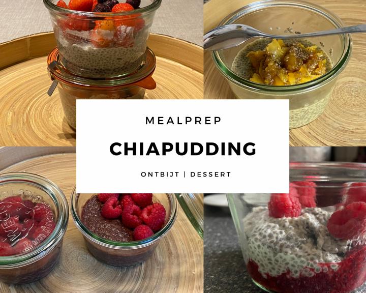 mealprep chiapudding