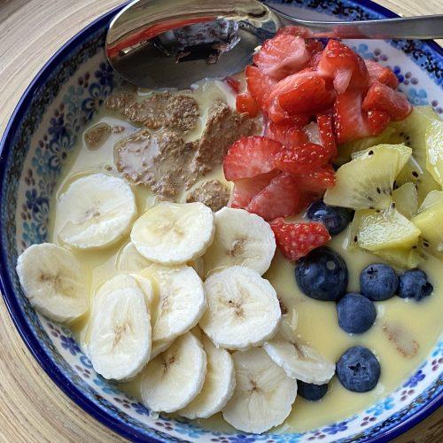 all bran fruit bowl