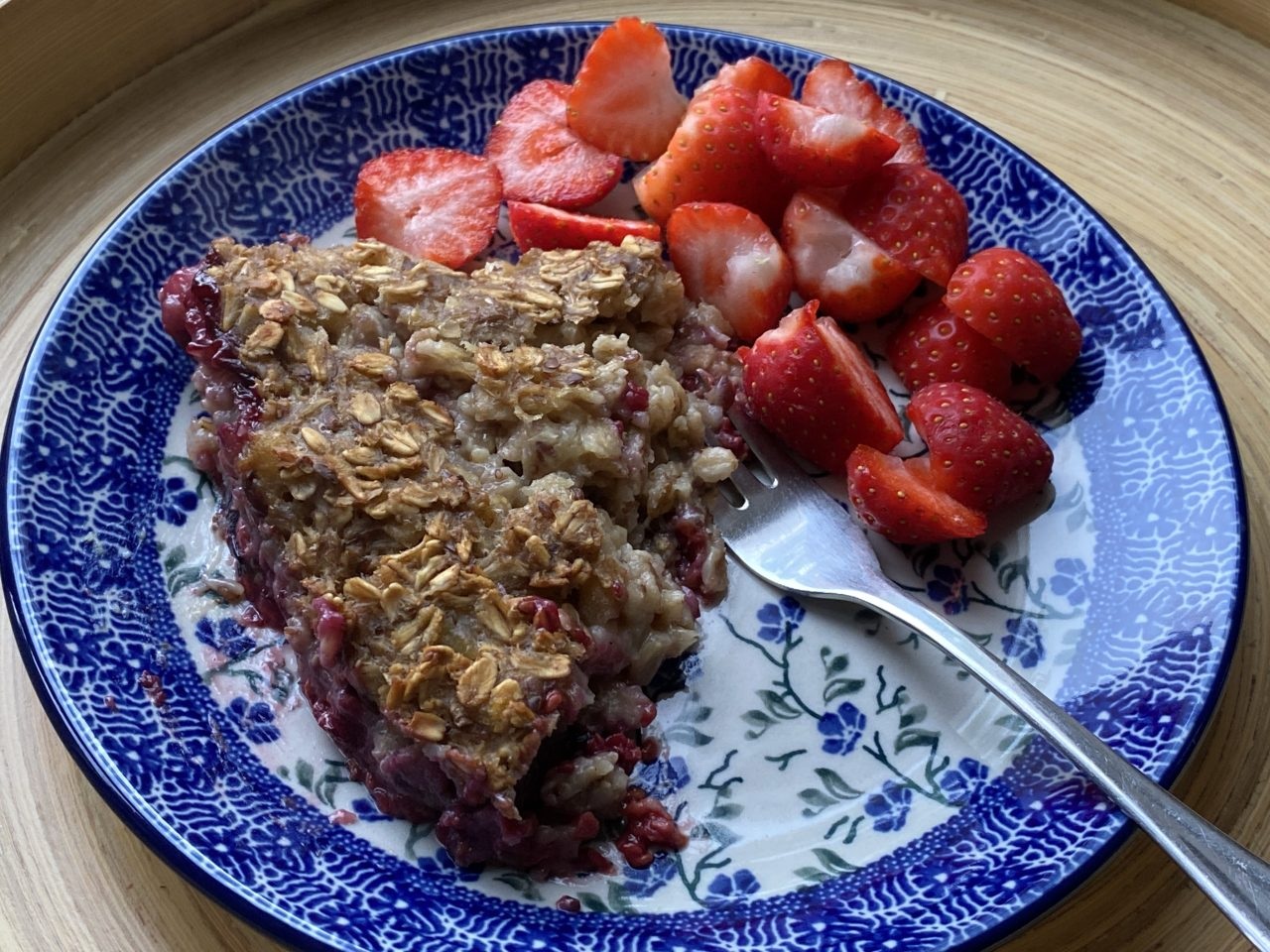 ontbijttaart met havervlokken