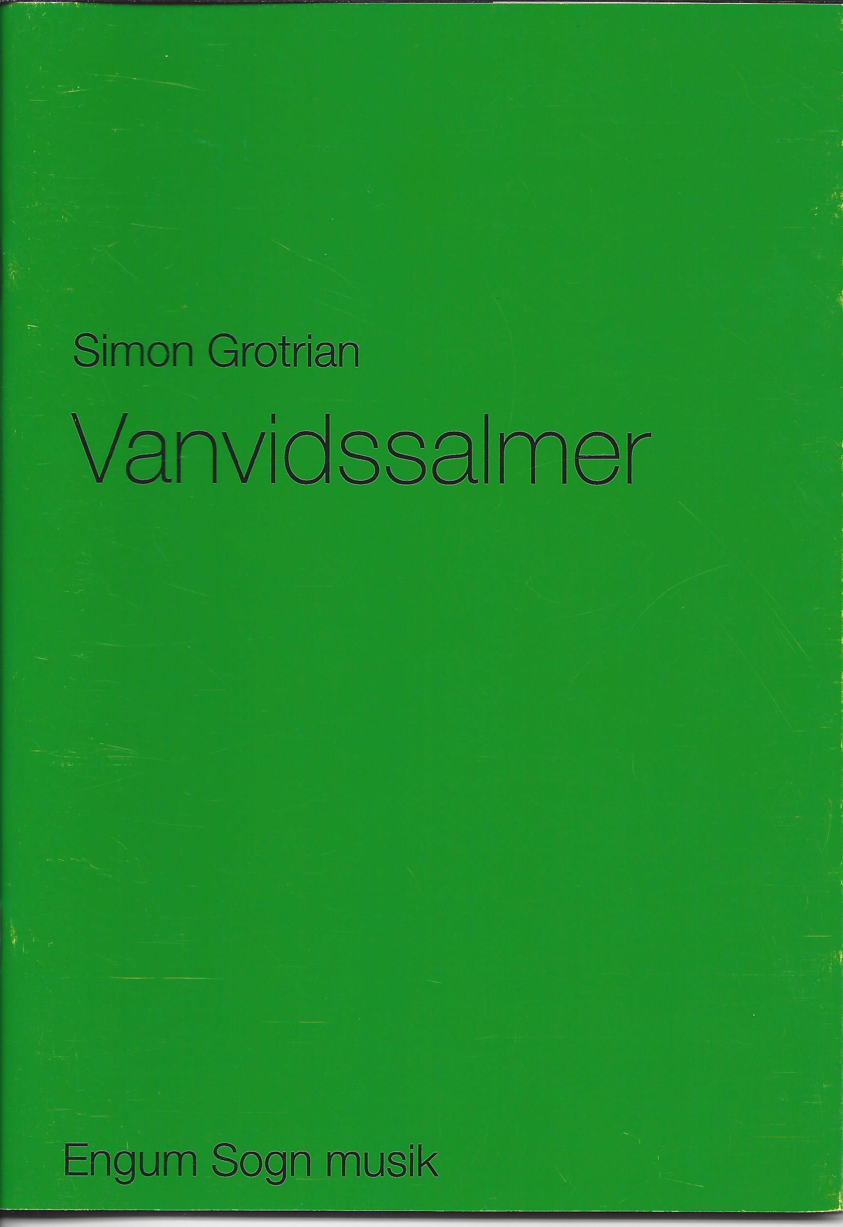 Forside Vanvidssalmer