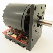 zoomed picture of a servo motor