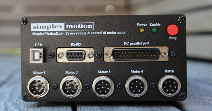 picture of a simplex motion hub
