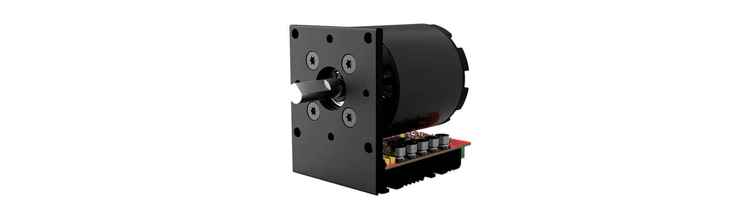 image of a servo motor in the SH-series