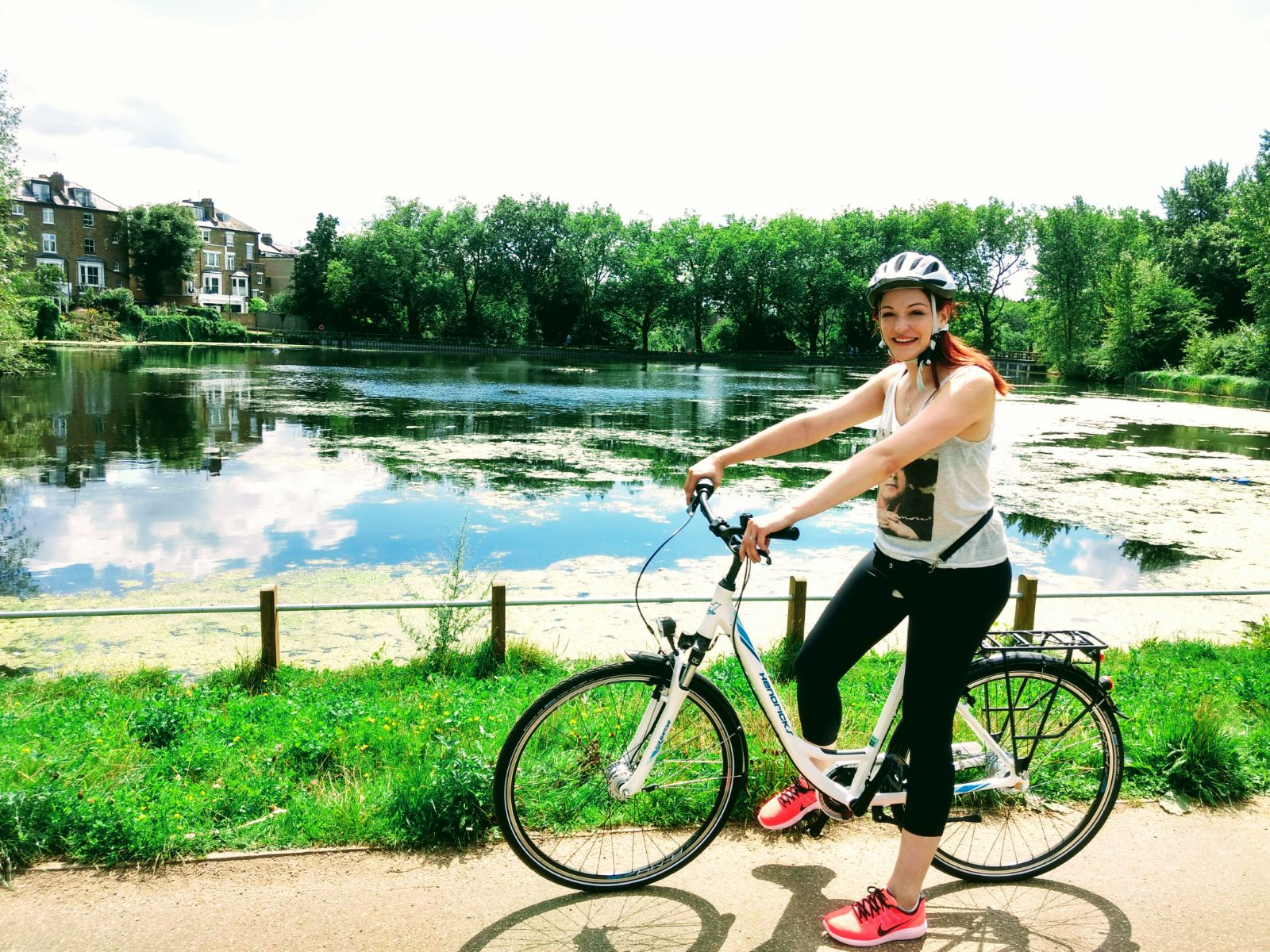 Cycling and singing