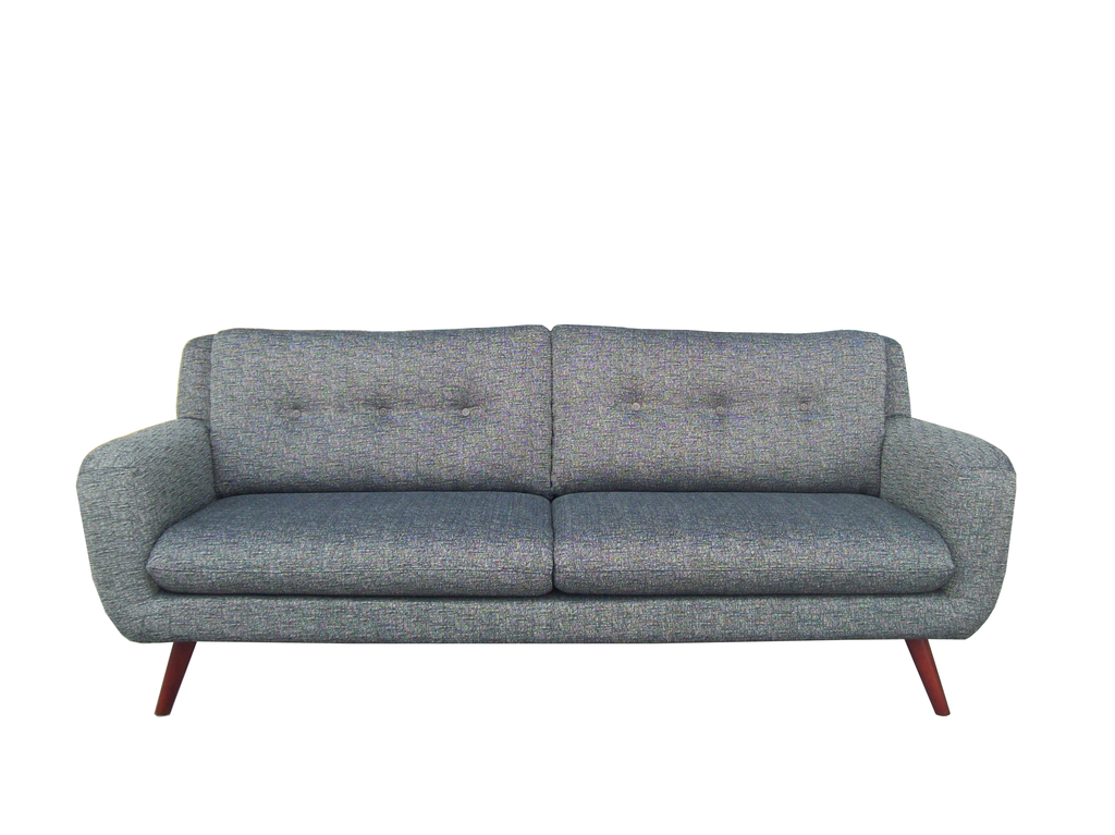 Six Sense Ieper Ethnicraft Sofa N801 - 3 seater - grey