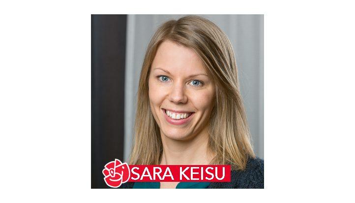 Sara Keisu, medlem i Socialdemokraterna Skellefteå