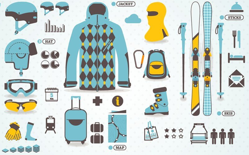 Packing list for ski trip