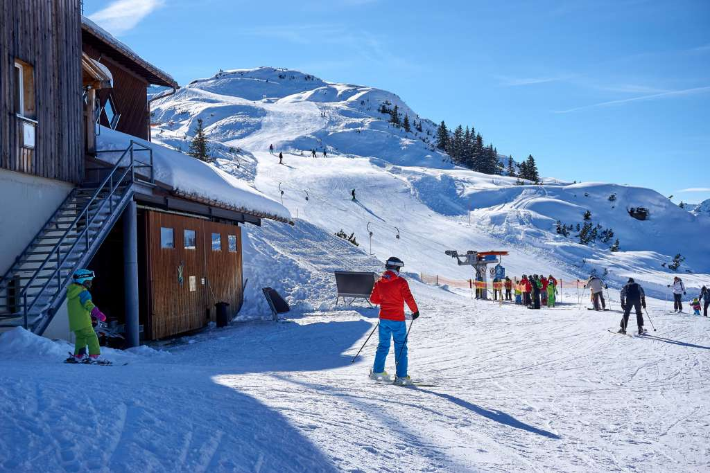 Ski resorts suitable for families