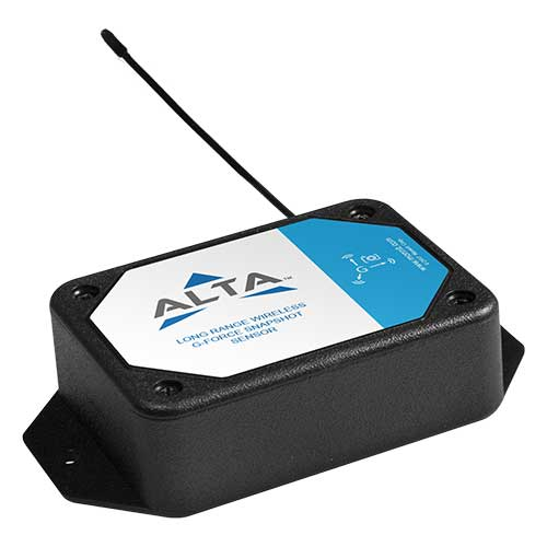 ALTA Wireless Accelerometer - G-Force Max-Avg - AA Battery Powered