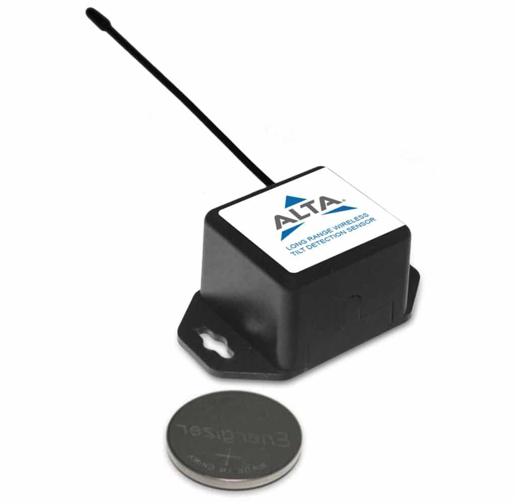 ALTA Wireless Tilt Detection Sensor - Coin Cell Powered