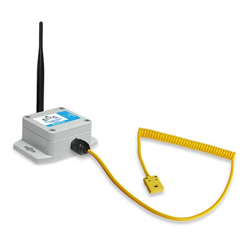 ALTA Industrial Wireless Thermocouple Sensor (K-Type Quick Connect) with Solar Power