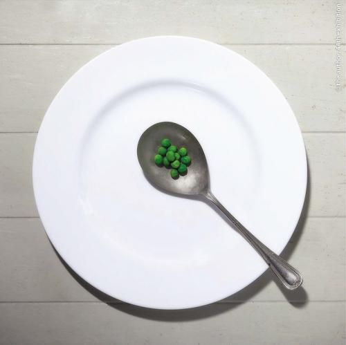 Peas on Spoon  Andy Fryer