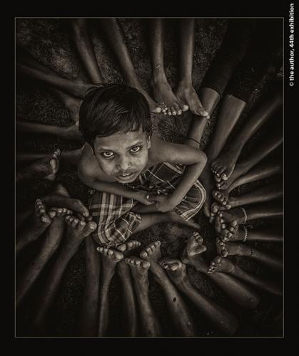 PAGB Ribbons-Circled Face-Sudip Sahu EFIAP FFIP-India