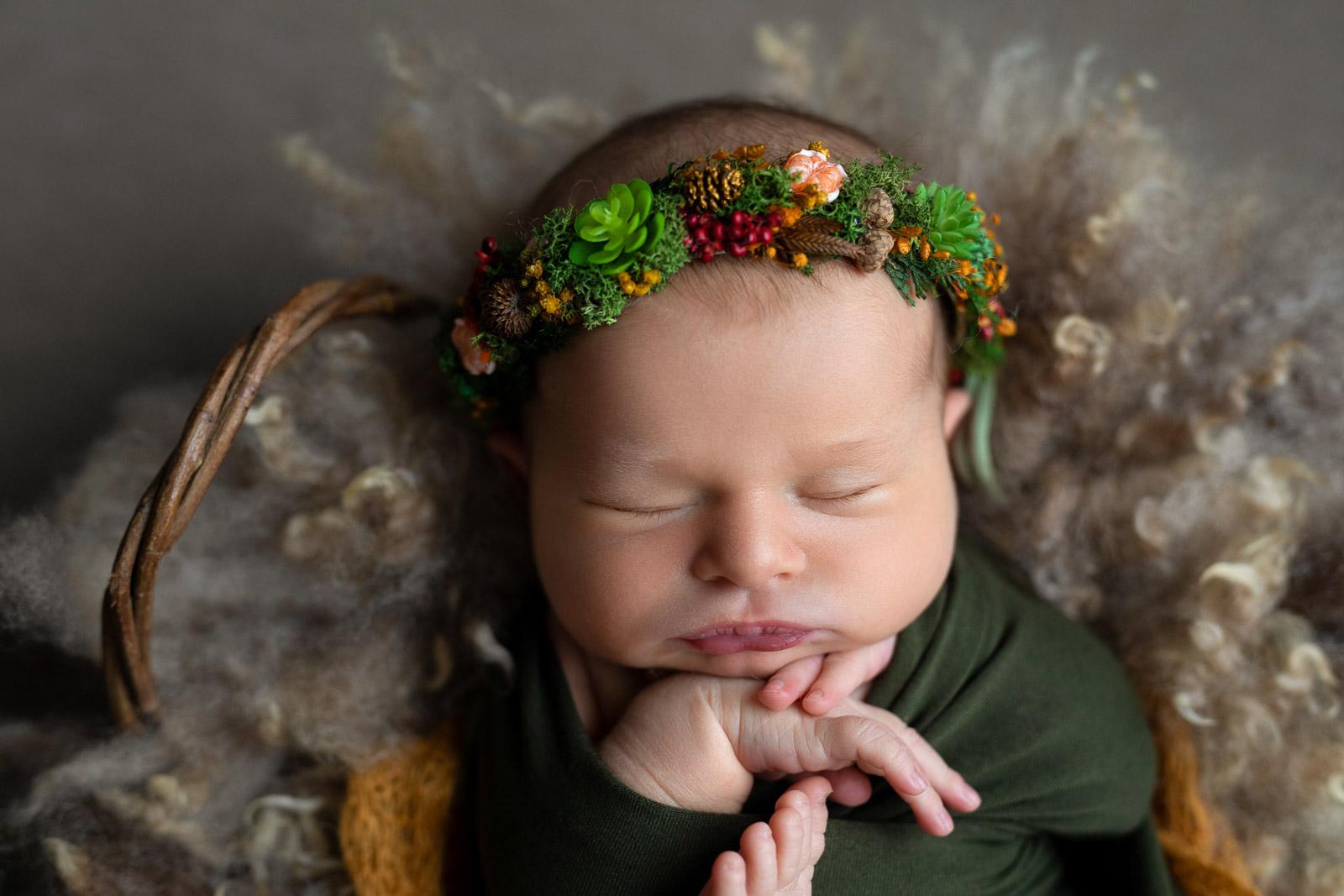 Neugeborenen Fotoshooting 8