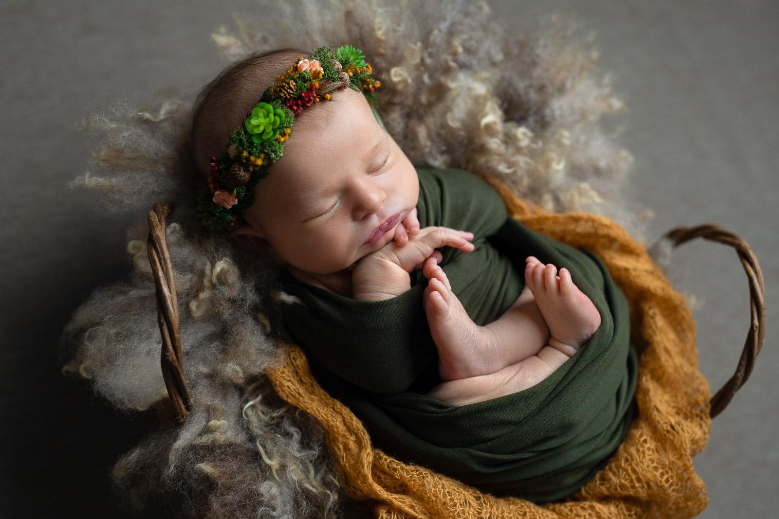 Neugeborenen Fotoshooting 9